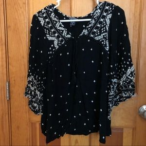 *Like New* Angie Boho Peasant Top
